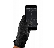 Mujjo Single Layered Touchscreen Gloves - Touchscreen Handschuhe - Grösse L - Schwarz